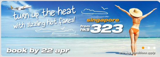 Tiger Sale Apr 22 Tiger Airways Sale to Singapore