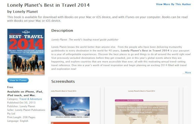 best in travel 2014 Free Lonely Planets Best in Travel 2014