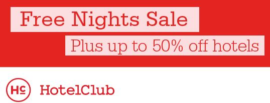 hotelclub sale
