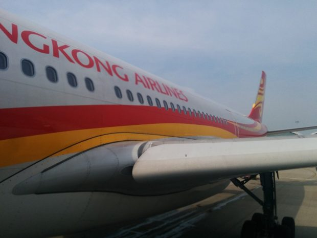 hk airlines plane