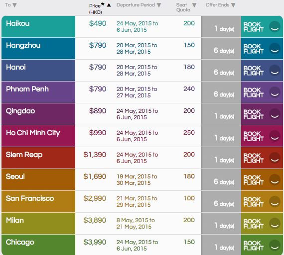 cathay pacific fan fares