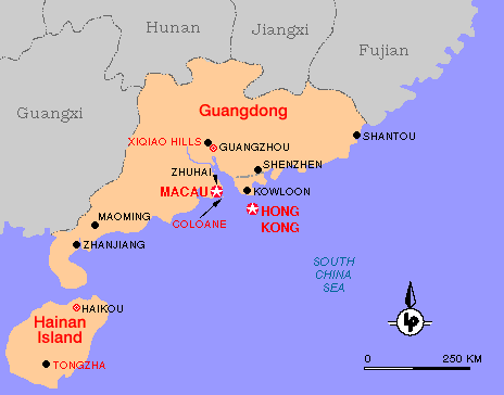 MAOMING MAP