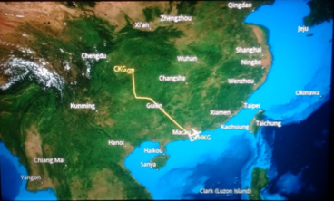 hkg cgk flight map