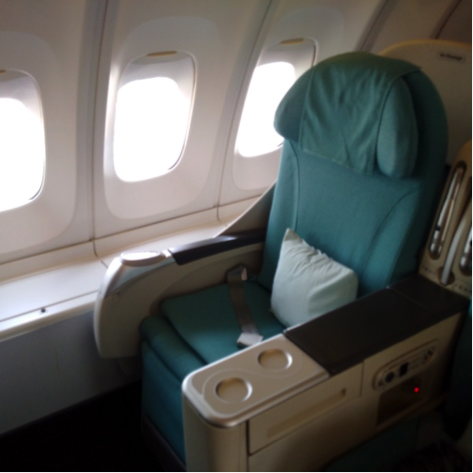 korean 747 seating business