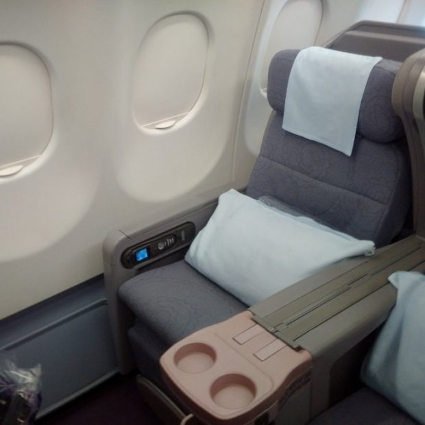 China Airlines seat