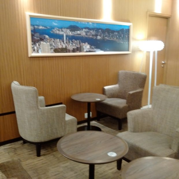HK Airlines lounge seating