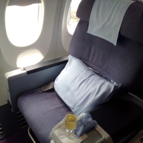 HKG TPE CI BUSINESS SEAT