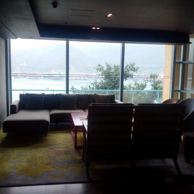 Central lounge beside the lobby