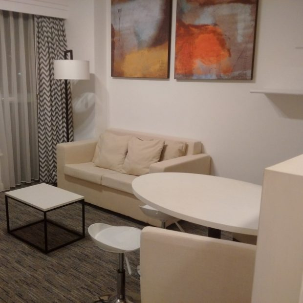 Lounge area in the room