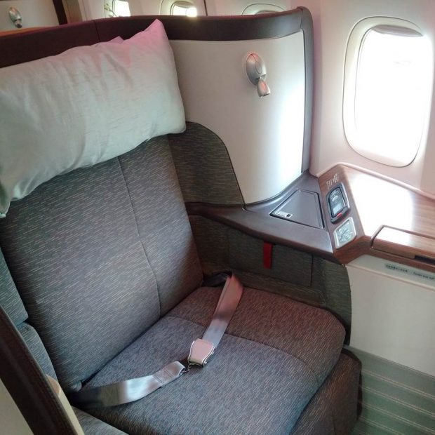 Cathay seat