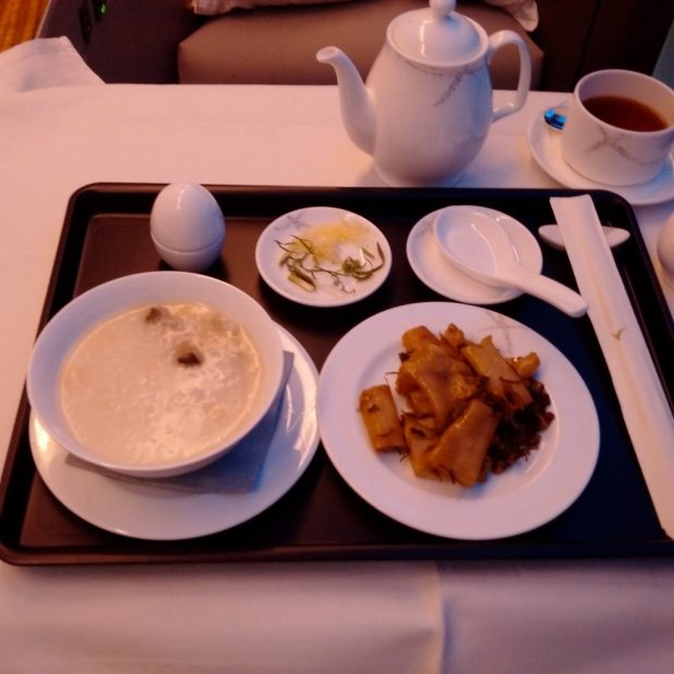 breakfast CX521 (HK Travel Blog)