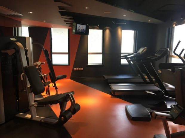 madera hollywood: gym