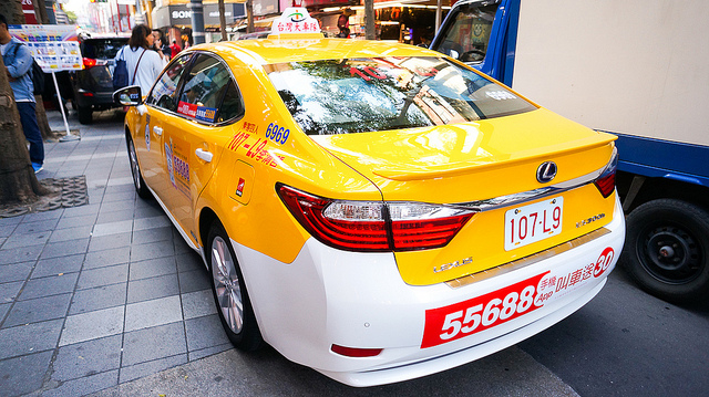 airport taxi in Taipei